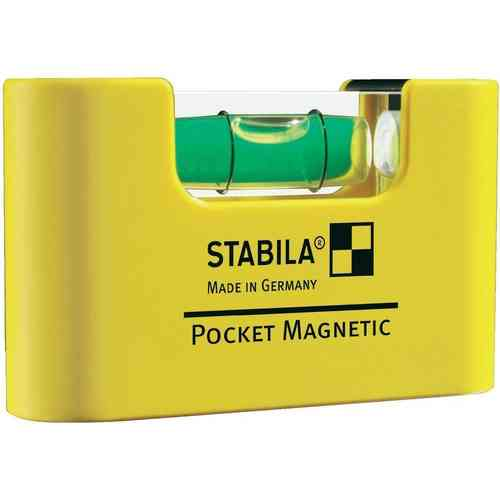 Nivel de burbuja Pocket Magnetic de STABILA