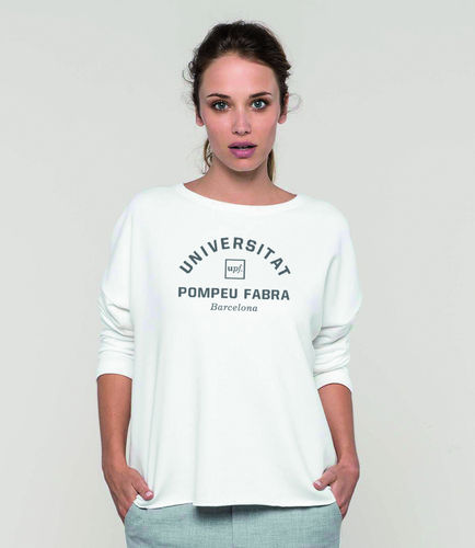 WHITE limited edition 2018 woman sweatshirt