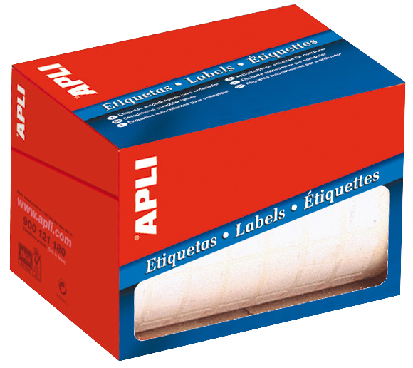 Rotlle etiquetes adhesives