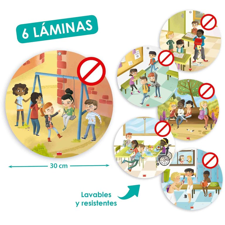 Láminas anti-bullying