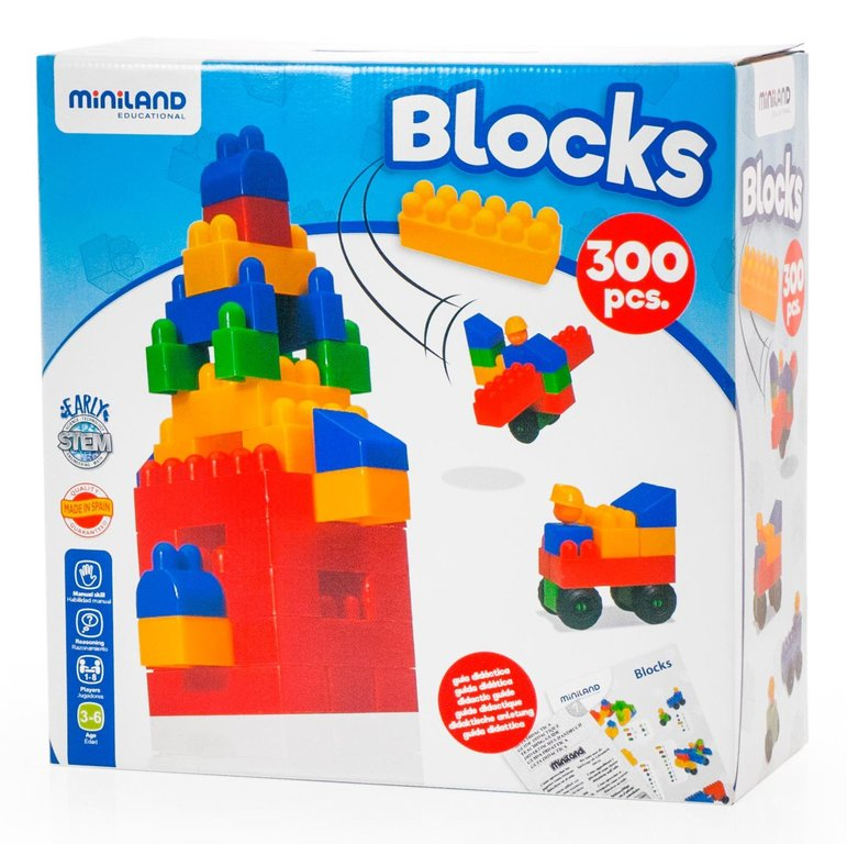 Blocks 300 pcs