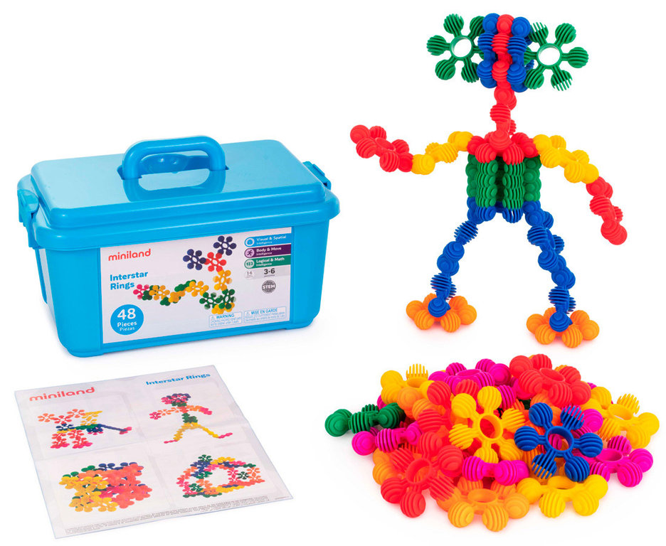 Interstar rings 48 pcs