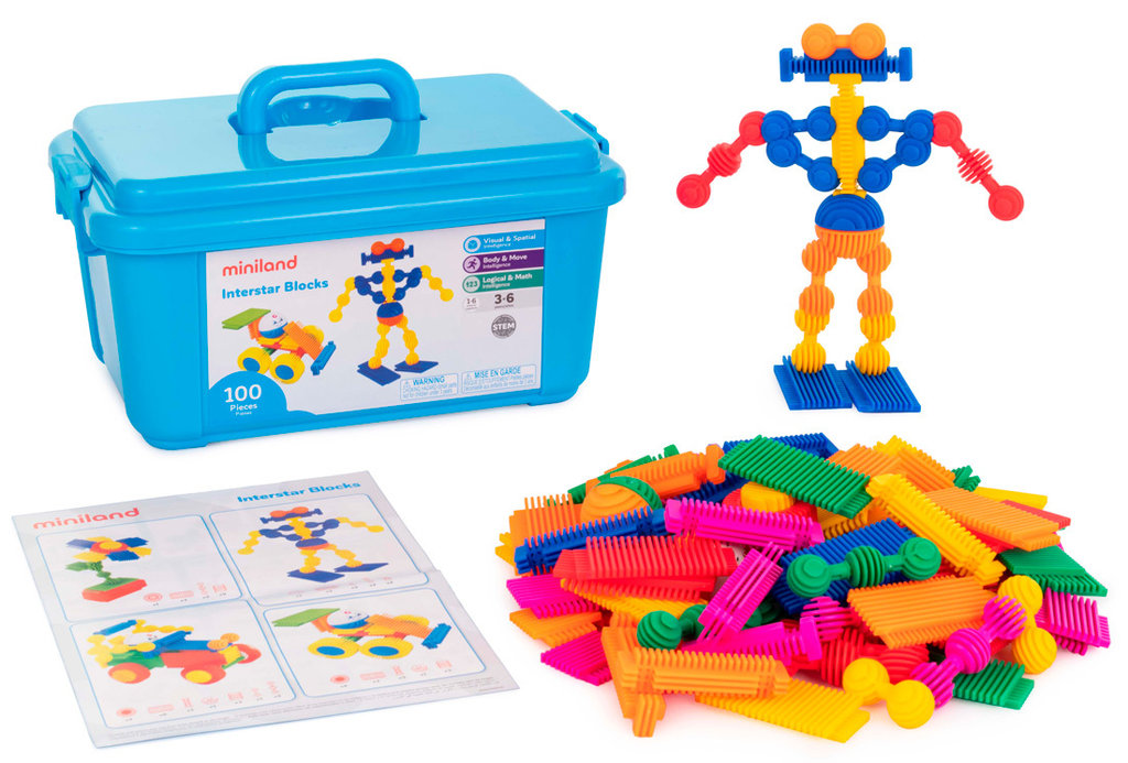 Interstar blocks 100 pcs