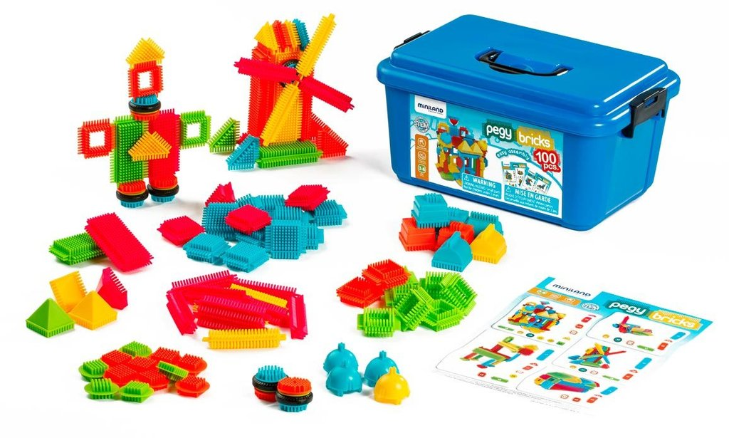 Pegy bricks 100 pcs