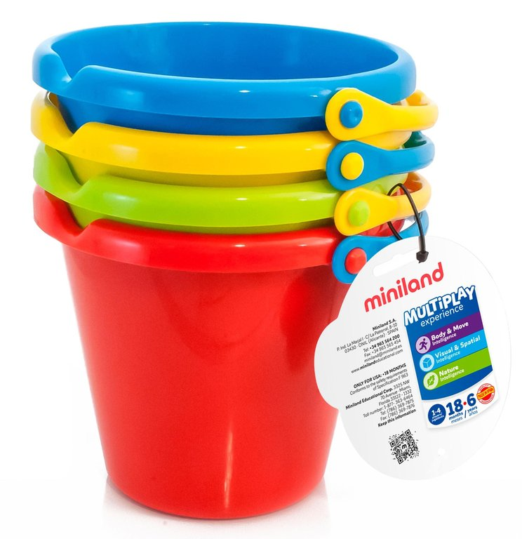 Set 4 cubos especiales