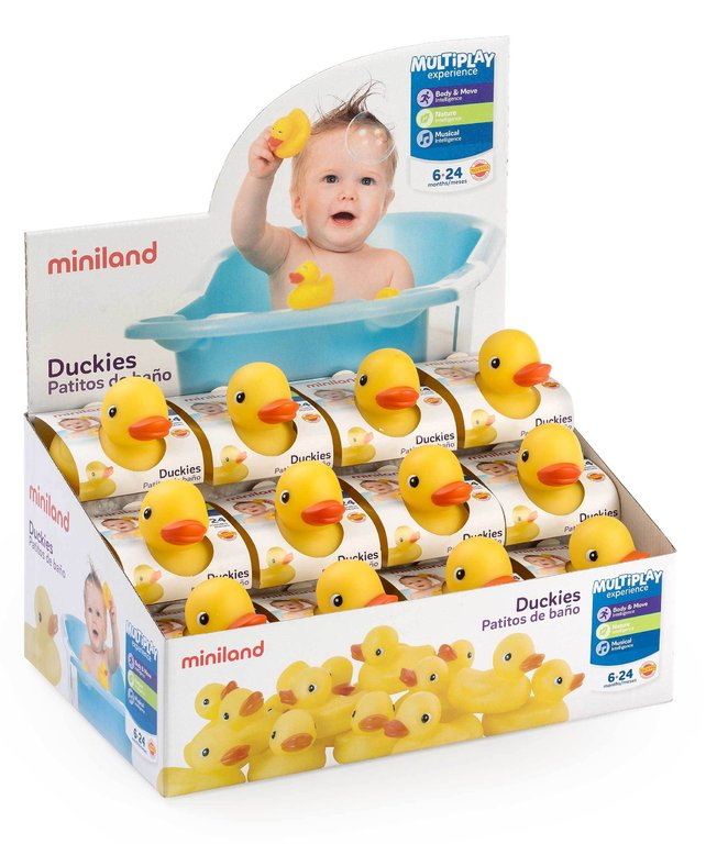 Patitos baño 24 uds