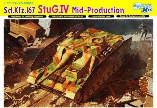 DRAGON 6582 1/35 Sd.Kfz.167 StuG.IV Mid Production