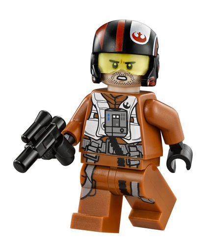 LEGO 75102 (Split) Star Wars Poe Dameron
