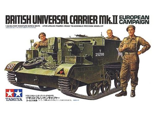 TAMIYA 35175 1/35 British Universal Carrier Mk.II European Theater