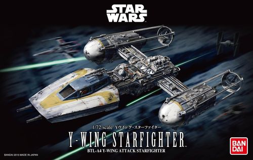 BANDAI 196694 1/72 Y-Wing Starfighter