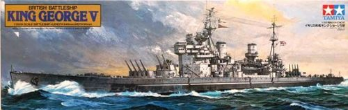 TAMIYA 78010 1/350 British Battleship King George V