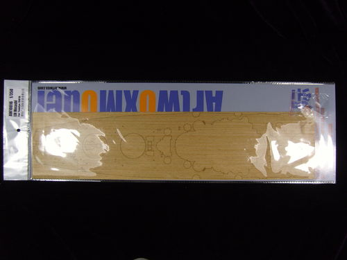 ARTWOX MODEL AW10016 1/350 IJN Musashi Battleship Wooden Deck (for Tamiya 78016)