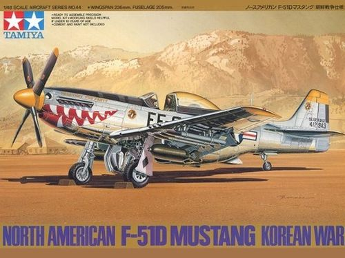 TAMIYA 61044 1/48 North American F-51D Mustang Korean War