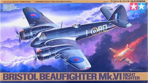 TAMIYA 61064 1/48 Bristol Beaufighter Mk.VI Night Fighter