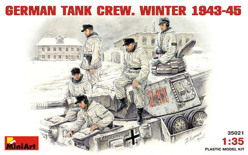 MINIART 35021 1/35 German Tank Crew. Winter 1943-45.