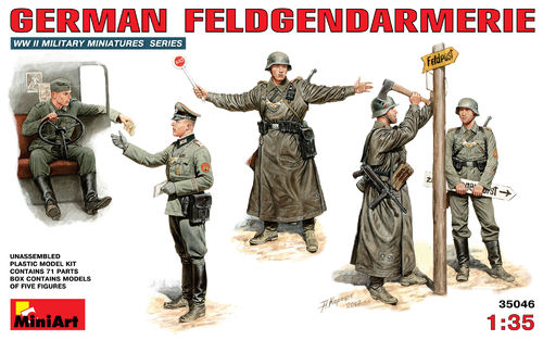 MINIART 35046 1/35 German Feldgendarmerie