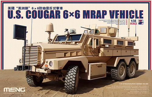 MENG SS-005 1/35 US Cougar 6x6 Mrap Vehicle