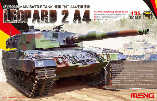 MENG TS-016 1/35 German MBT Leopard 2 A4