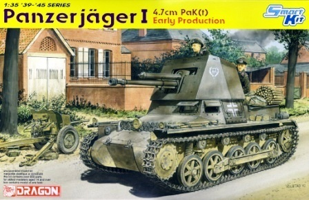 DRAGON 6258 1/35 4.7cm Panzerjager I Early Production