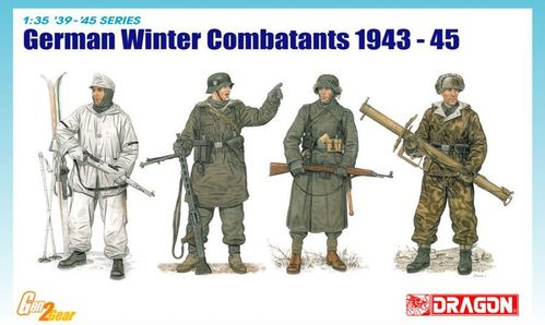 DRAGON 6705 1/35 German Winter Combatants 1943 - 45