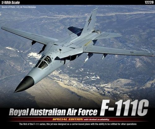 ACADEMY 12220 1/48 Royal Australian Air Force General Dynamics F-111C Aardvark (Special Edt.)