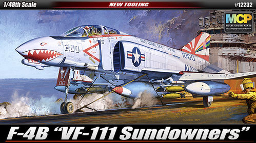 "ACADEMY 12232 1/48 F-4B ""VF-111 SUNDOWNERS"""