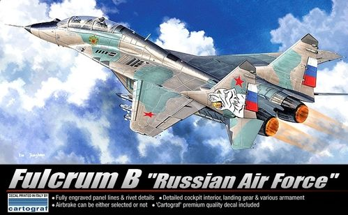 "ACADEMY 12292 1/48 MiG-29UB Fulcrum B ""Russian Air Force"""