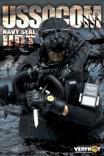 VERY HOT 1036 1/6 USSOCOM Navy SEAL UDT (Underwater Demolition Team) (Cabeza y Cuerpo no incluidos)