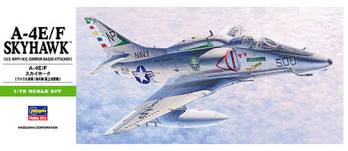 HASEGAWA 00239 (B9) 1/72 A-4E/F Skyhawk (U.S. Navy/M.C. Carrier-Based Attacker)