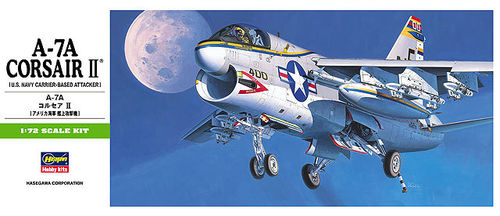 HASEGAWA 00238 (B8) 1/72 A-7A Corsair II (U.S. Navy Carrier-Based Attacker)