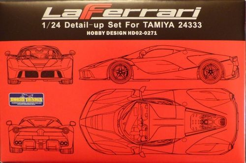 HOBBY DESIGN HD02-0271 1/24 La Ferrari Detail-Up Set (for Tamiya)