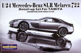 HOBBY DESIGN HD02-0129 1/24 Detail-up Set for Mercedes-Benz SLR McLaren 722 (for Tamiya)