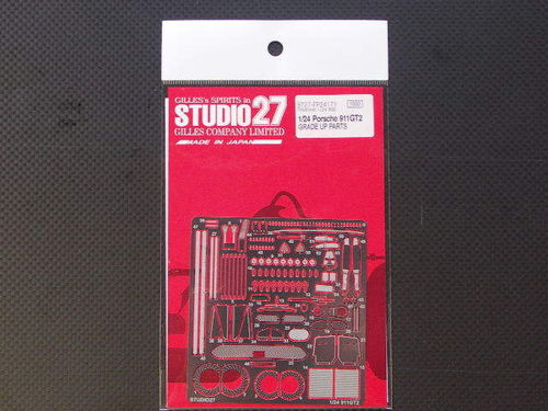 STUDIO 27 FP24171 1/24 Porsche 911 GT2 Detail Parts (for Tamiya)