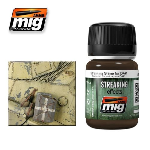 AMMO of Mig Jimenez A.MIG-1201 Streaking Effects - Grime for DAK
