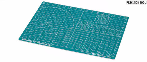 TAMIYA 74118 Cutting Mat - Size A4 / Green