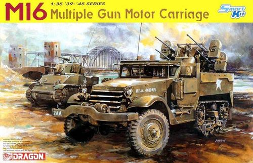 DRAGON 6381 1/35 M16 Halftrack Multiple Gun Motor Carriage