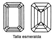 Talla esmeralda