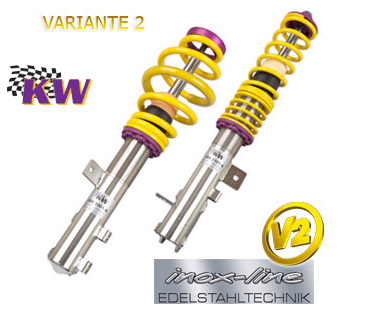 SUSPENSION REGULABLE KW V1 INOX BMW SERIE 3  E46 XI/XD