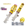 SUSPENSION REGULABLE KW VARIANTE 3 INOX BMW SERIE 7(E65)