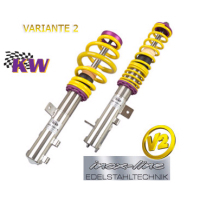 SUSPENSION REGULABLE KW VARIANTE 3 INOX FORD FOCUS RS (10/02-