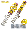 KIT SUSPENSION KW V2 INOX ROVER 200, 25, MG ZR(RF) 101/95-