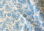 A-YING TOILE BLUE