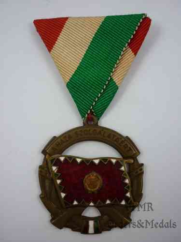 Hungary-Medal of merit for services to the Country bronz1