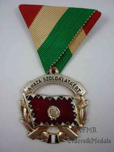 Hungary-Medal of merit for services to the Country silver