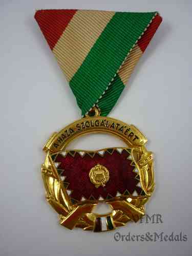 Hungary-Medal of merit for services to the Country gold