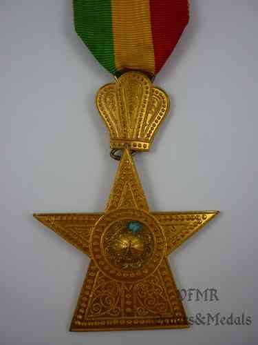 Ethiopia-Imperial Order of the Star of Ethiopia, knight