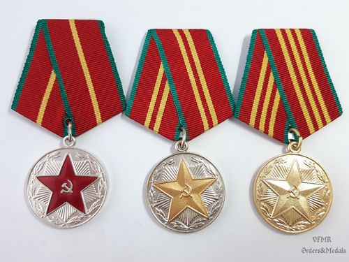 Medals for irreproachable service in the Armed Forces of the USSR