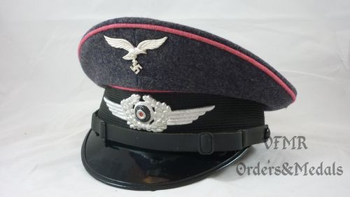 Luftwaffe NCO's visor cap, engineer corps, repro