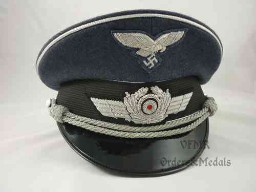 Luftwaffe officer visor cap, repro