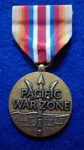 Pacific War Zone Medal (Merchant Marine)
